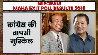 Mizoram Exit Poll Result 2018 | Exit Poll 2018 Mizoram | Mizoram Assembly Election 2018 - ITVNEWSINDIA