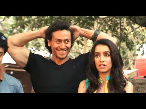 Shraddha Kapoor and Tiger Shroff spotted shooting for Baaghi