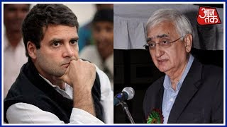 Salman Khurshid's Admission Leaves Congress In Chaos; Is Congress' Hand Blood Stained? | Halla Bol - AAJTAKTV