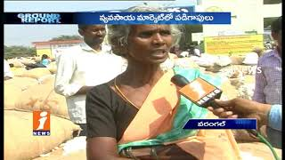 Cotton Farmers Into Losses Due To Low Supporting Price In Warangal | Ground Report | iNews - INEWS
