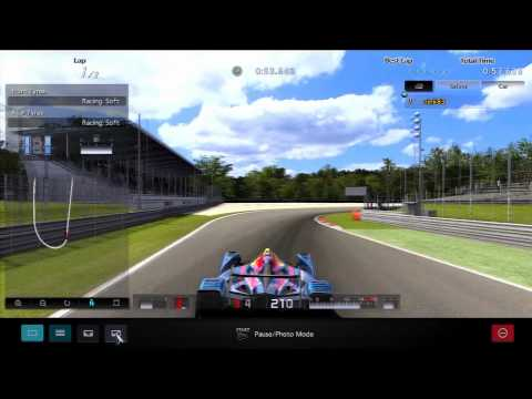 How to get Gold in S. Vettel X Challenge Monza [HD] - Gran Turismo 5 Practice Centre Special
