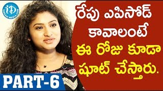 Actress Vishnu Priya Exclusive Interview  - Part#6 || Soap Stars With Anitha - IDREAMMOVIES