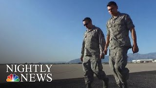 Father And Son Stationed At Same Arizona Air Force Base | NBC Nightly News - NBCNEWS