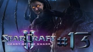 Starcraft II: Heart of the Swarm (Part 13) - Larva inside the protoss lady!