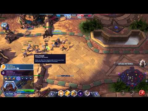 Heroes of the Storm - Uther and Rayner COOP! #1