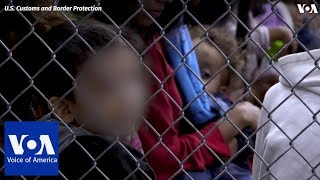 U.S. Border Patrol video shows facility for minors - VOAVIDEO