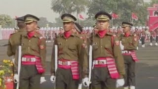 Gentleman cadets take oath, commissioned as Army Officers - TIMESOFINDIACHANNEL