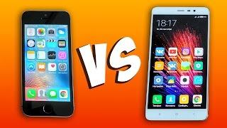 iPhone 5S vs Xiaomi Redmi Note 3 Pro - ЧТО ЛУЧШЕ?