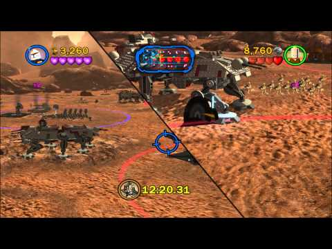 LEGO Star Wars III The Clone Wars Republic Assault Geonosis