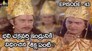 భలి చక్రవర్తి ఇంద్రునికి విధించిన శిక్ష ఏంటి ? Vishnu Puranam Telugu Episode 43/121 - SRIBALAJIMOVIES
