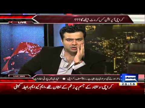 Layari Gang War - On the front with Kamran Shahid - Dunya News