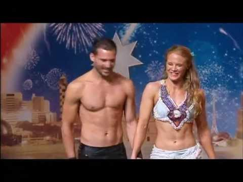 Suzie Q and Toby J - Acrobats - Australia's Got Talent 2012 audition 8 [FULL]