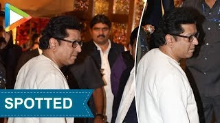 MNS Chief Raj Thackeray attends Isha Ambani- Anand Piramal's grand Wedding Celebrations - HUNGAMA