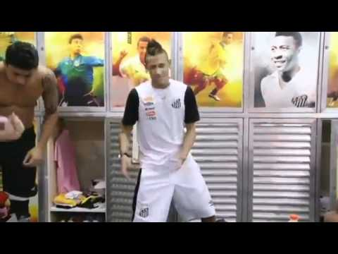 Cristiano Ronaldo and Neymar dancing to Ai se eu te pego