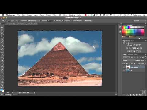 Adobe Photoshop CS6 Tutorial | Magic Wand and Quick Selection | InfiniteSkills