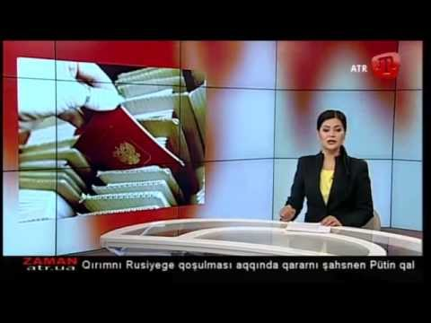 23 Aprel (çiçek ayı) 2014 Zaman 1 saba Qırımtatarca - 23April14 morning news Crimean Tatar language