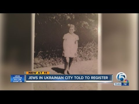 Jews in Ukrainian city told to register