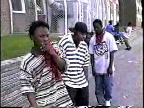 REAL TORONTO GANGSTERS: 1st BLOODS: KILLA & YOUNG THUGZ, BLOODZ 95'