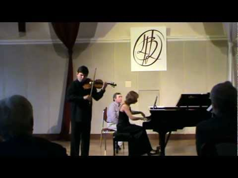 Sergei Prokofiev : Four Pieces from 'Romeo and Juliet' , op. 64 arr. violin and piano