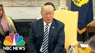 President Trump Confirms Call To Putin, Says They Will Meet 'In Not Too Distant Future'   NBC News - NBCNEWS