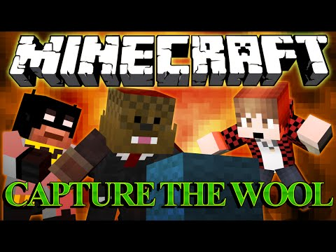 Minecraft Capture The Wool CHALLENGE w/ The Pack