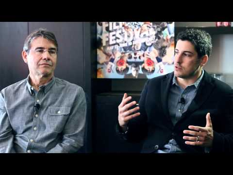 "Jason Biggs & Stephen Gyllenhaal ""Grassroots"" Interview"