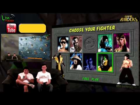 Game Raiders - Episodio 30 - Mortal Kombat Arcade Kollection - www.livefactor.cl