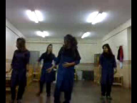 رقص دختر لخت