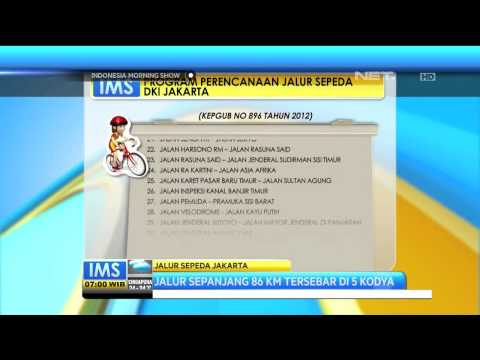 30 Jalur Sepeda di Jakarta - IMS