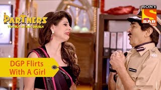 Your Favorite Character | DGP Jagmohan Flirts With A Girl | Partners Trouble Ho Gayi Double - SABTV