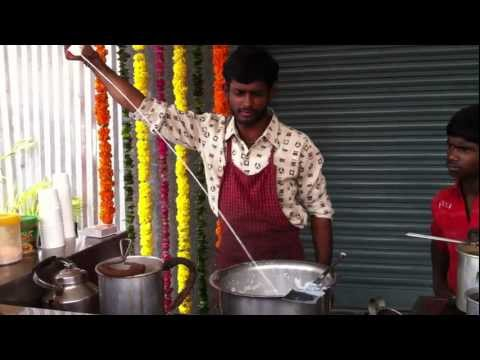 An Unusual way of making Indian Tea