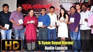 'A Syam Gopal Varma' Audio Launch - IGTELUGU