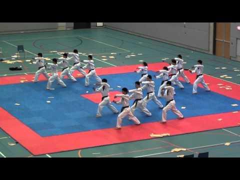 Kukkiwon Korean Worldfamous Taekwondo Demoteam in Netherlands 2011-4-6 (3/5)