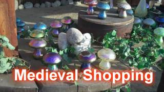 Royalty Free :Medieval Shopping