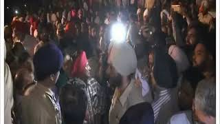 Amritsar Train Accident aftermath hundreds gather - NEWSXLIVE