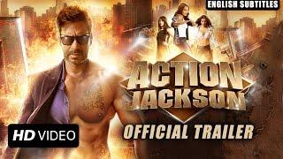 Action Jackson Official Trailer With English Subtitles | Ajay Devgn, Sonakshi Sinha & Yami Gautam - EROSENTERTAINMENT