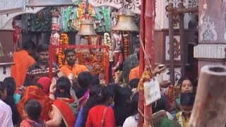Devotees throng temples across country on first day of Chaitra Navratri - TIMESOFINDIACHANNEL