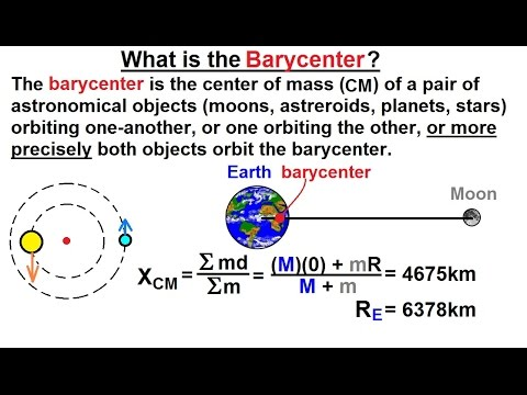 Astrophysics: Binary Star System  (6 of 40) What is the Barycenter?