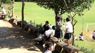 Thailand students playing