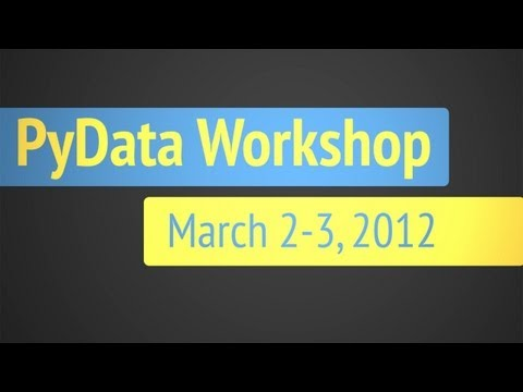 2012 PyData Workshop Panel Discussion with Guido van Rossum