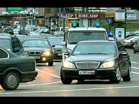 Тачки правительства СПБ и Москвы. Government cars in russia!