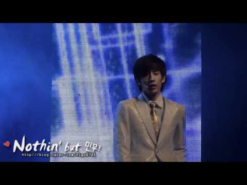 [nigo]2012.05.19 BOYFRIEND Shanghai FM - You & I - Minwoo Focus