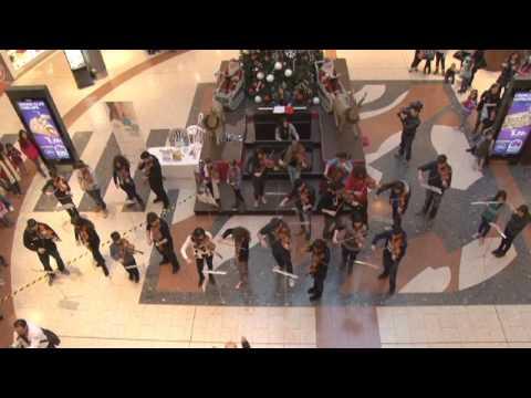 flash mob ενάντια στο καρκίνο του τραχήλου της μήτρας
