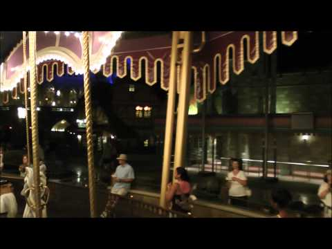 Prince Charming Regal Carrousel (Nighttime), Magic Kingdom, Walt Disney World HD (1080p)
