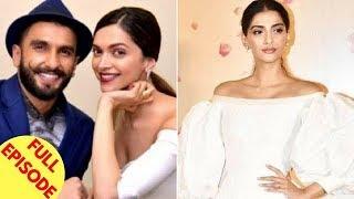 Deepika Expresses Her Love For Ranveer | Sonam Kapoor Breaks Her Silence On Her Wedding & More - ZOOMDEKHO