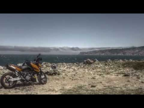 Riding in the roads of Guincho and Cabo da Roca in my KTM Super Duke
