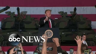 Trump attacks McCain at event packed with veterans - ABCNEWS