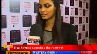 Day 3 of Myntra Fashion Weekend 2014 - TIMESNOWONLINE