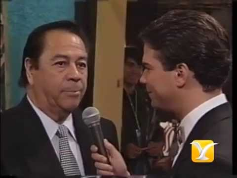Backstage Lucho Gatica - Estela Mora - Dino Gordillo
