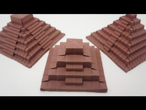 Origami Ancient Pyramid (Jo Nakashima)
